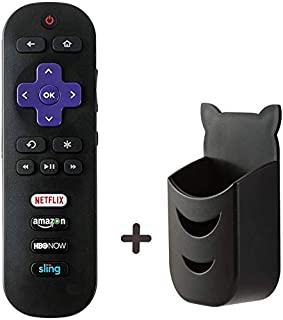 Motiexic Remote Control Compatible with TCL Roku TV RC280 RC282 55S405 40S3800 50UP120 65S401 32S301 32S850 32S3700 32S3750 43FP110 43UP120 48FS3700 48FS3750 50FS3850 50UP120 32FS3700 32s305 32S850