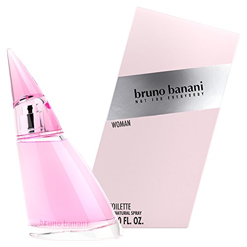 bruno banani Woman – Eau de Toilette Natural Spray – Blumig-fruchtiges Damen Parfüm – 1er Pack (1 x 60ml)