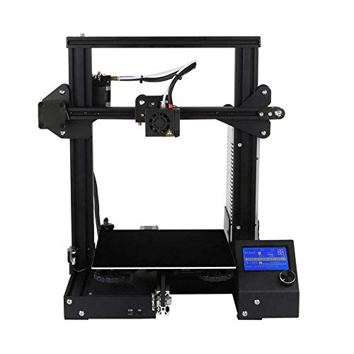 3D3D Printer Upgrade Desktop DIY 3D Printers and Resume Printing and UL Certified Power Supply 220x220x250mm (A13)