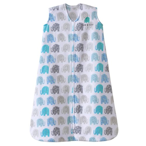 Halo Innovations Sleep Sack Wearable Micro Fleece Blanket, Elephant Texture, X-Large