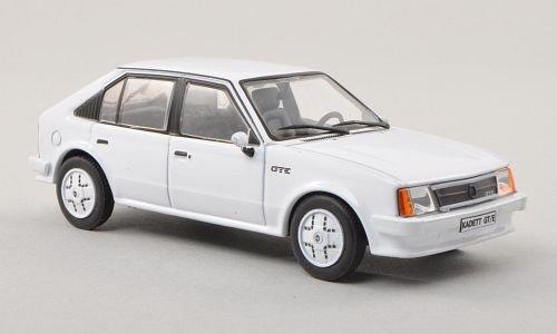 Opel Kadett D GT/E, Weiss, 4-Türer (ohne Magazin) , 1983, Modellauto, Fertigmodell, SpecialC.-40 1:43