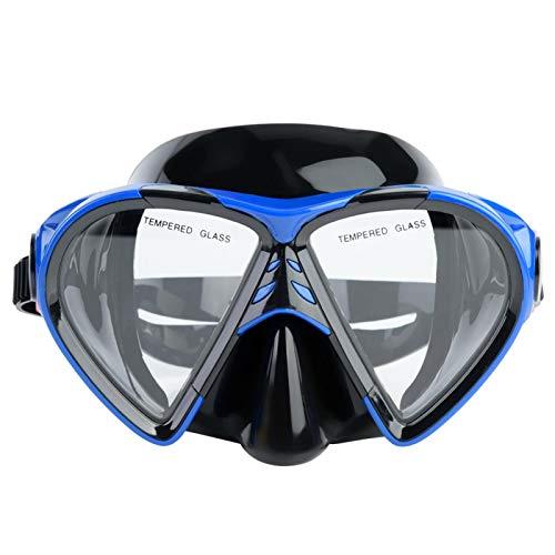 Cloudbox Gafas de esnórquel Gafas de esnórquel de Silicona Profesional para Hombres y Mujeres Gafas de esnórquel Gafas de natación para esnórquel