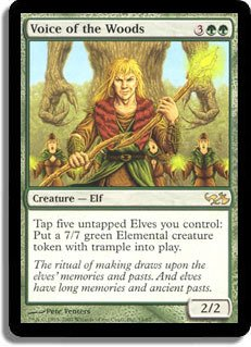 Magic The Gathering - Voice of The Woods - Duel Decks: Anthology