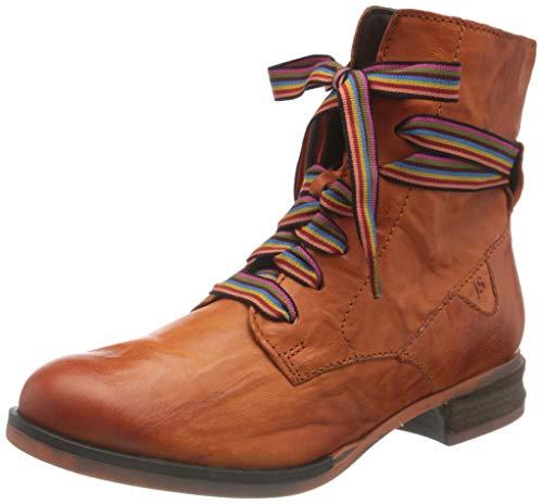 Josef Seibel Damen Sanja 04 Mode-Stiefel, orange, 40 EU