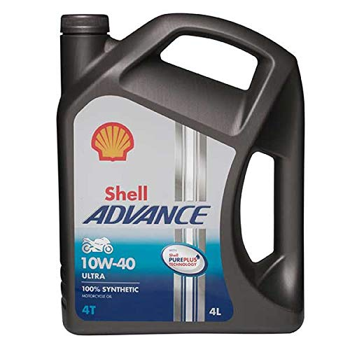 Shell 550027077 Advance 4T Ultra 10W 40 Motorcycle Engine Oil