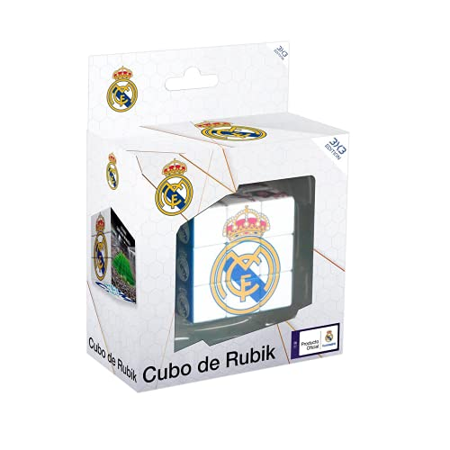 Eleven Force-EF-14658 Cubo Rubik Real Madrid CF, Multicolor (14658)