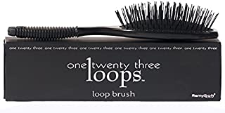 RemySoft One Twenty Three Loops - Loop Brush - Safe for Hair Extensions, Weaves and Wigs