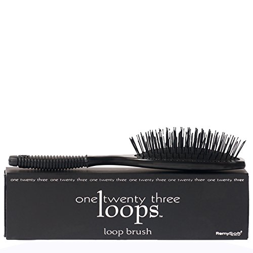 RemySoft Loop Brush - for Hair Extensions, Weaves, and Wigs