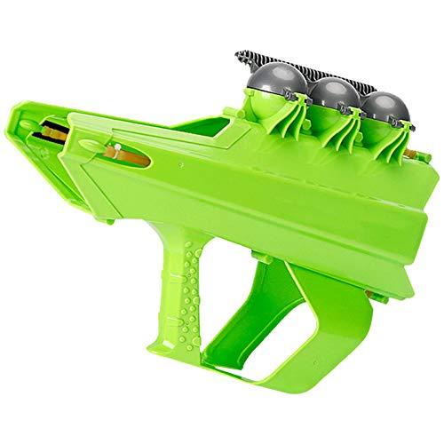 Schneeballwerfer Pistole, Schneeballwerfer, Schneeballwerfer Schleuder Spielzeug Schneeball Maker Winter Outdoor Spielzeug, Weiß/Grün
