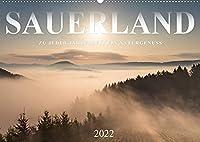 Sauerland, zu jeder Jahreszeit ein Naturgenuss (Wandkalender 2022 DIN A2 quer): Das Sauerland ist im Wechsel der vier Jahreszeiten eine besonders reizvolle Ferienregion. (Monatskalender, 14 Seiten )