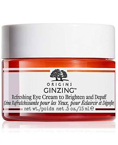 Origins Ginzing Refreshing Eye Cream to Brighten and Depuff 15ml (Brand New No Box)