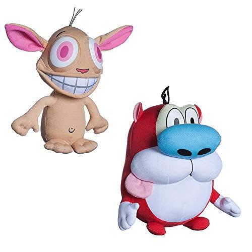 Nickelodeon Nick Toons The Ren & Stimpy Show Plush Set
