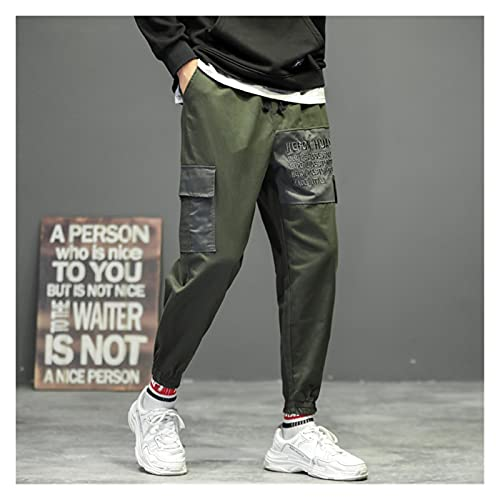 Pantalones De CháNdal De Anime, Pantalones De Jogg Harajuku Harem Pantalones Hombres Multi Pocket Design Dogger Ocio Over Mods Pantalones Pantalones Pantalones Moda Masculino Sweetpants