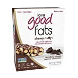 Love Good Fats Barras de Bocadillos Ricos en Chocolate con Almendras 4 x 39G 160 g
