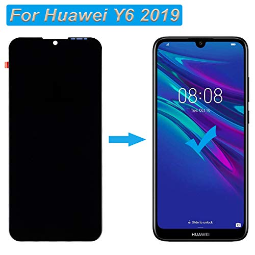 E-YIIVIIL Display Kompatibel mit Huawei Y6 2019/Y6S 2019/honor 8A LCD Touch Screen Display Assembly with Tools