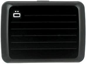 Ogon Black Aluminium For Unisex - Card & ID Cases