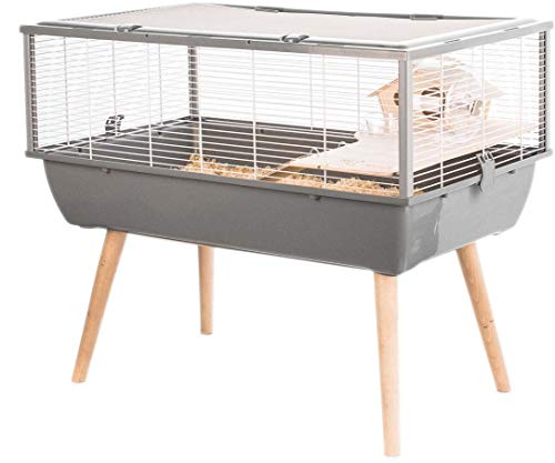 Cage Petits Rongeurs Neo Nigha Grise ( Catégorie : Cage rongeur )
