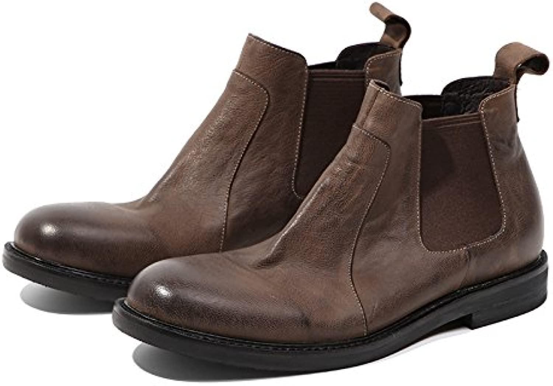Retro - martin stiefel, chelsea Stiefel, hohe stiefel und und und kurze stiefel, klassischen retro - englisch kurz - stiefel,braun,39 249