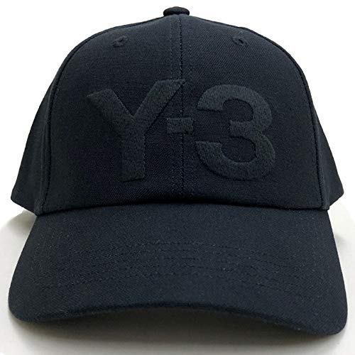 Y-3 (ワイスリー) ベースボールキャップ LOGO CAP FQ6974 BLACK 852A