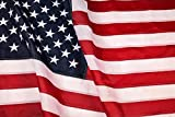 American Flag 3x5 ft : Longest Lasting US Flag Made from Nylon - Embroidered Stars - Sewn Stripes - UV Protection Perfect for Outdoors! USA Flag