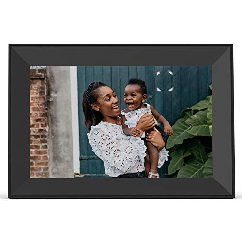 Aura Carver Smart Digital Picture Frame 10.1 Inch HD WiFi Cloud Digital Frame Free Unlimited Storage...