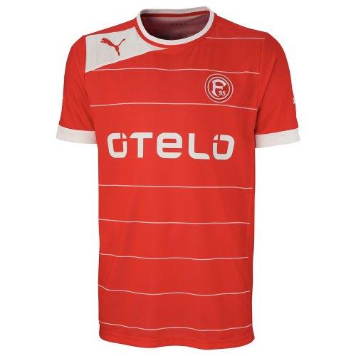 PUMA Herren Trikot Fortuna Düsseldorf Home Shirt, puma red-White, XXL, 742935 01