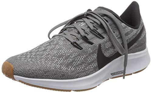 Nike Women's Air Zoom Pegasus 36 Running, Gunsmoke/Oil Grey/White, Size 10.0