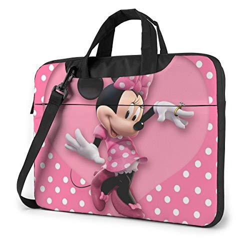 Funda para portátil Mickey Mouse Tablet Maletín Ultraportable de Lona Protectora para MacBook Pro, MacBook Air, Ordenador portátil de 14 Pulgadas