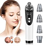 Blackhead Removal Pore Vacuum Face Nose Acne Comedone Extractor Cleaner Tool Upgraded Electric Adjustable Suction Power Probes Usb Rechargeable Facial Skin Clean Kit LED Display for Women Men…