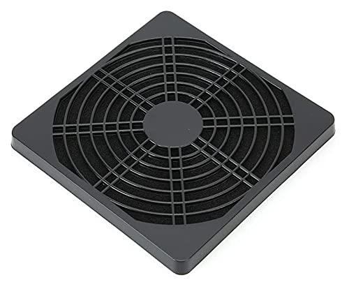 ZOUJIANGTAO Parrilla de Filtro de Polvo de Ventilador Parrilla Durable Impermeable Impermeable PC PC PC Chassis Cáscara de plástico para computadora portátil (Color : Black, Size : 12.6x12.6x1cm)