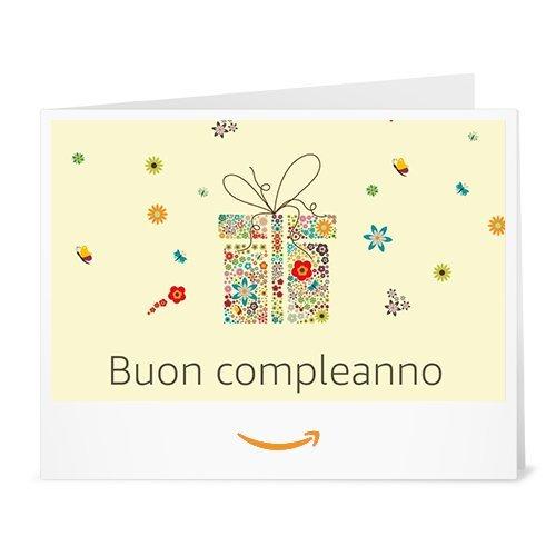 Buono Regalo Amazon.it - Stampa - Pacchetto fiorito