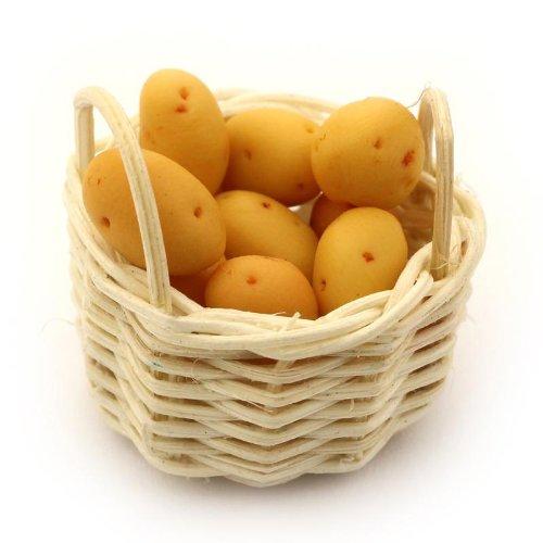 MyTinyWorld Maison Panier de Fait Main Cuisson Pommes