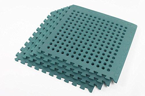 Easimat Swing Slide Play Garden Safety Green mats 16sq ft K mats