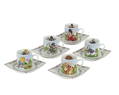 alice in wonderland dishes - 9