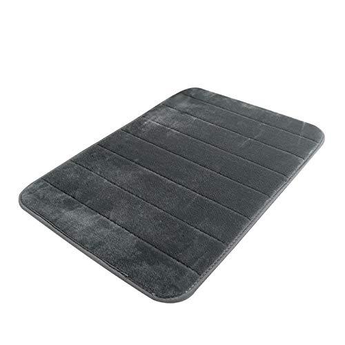 1pc Durable Wasserabsorbierende Soft Memory Foam Badematte Rutschfeste Badteppiche Matte Fleece Bad Set Teppich Bad Gadget 32 | Badematten