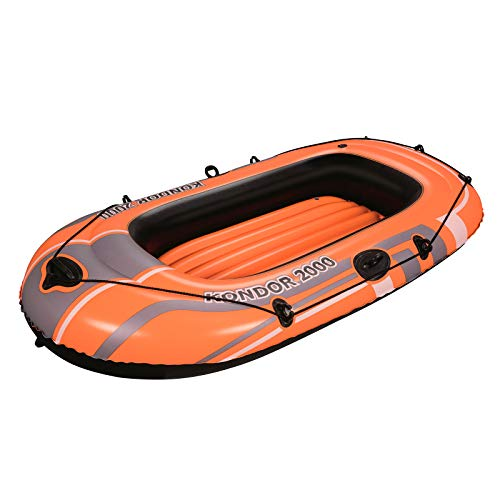 Bestway 61100 - Hydro-Force Canotto, colore: Arancione , 188 x 98 cm