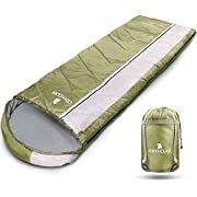 """Camping Sleeping Bags for Adults and Kids - Lightweight, Comfortable & Waterpro of Survival Gear Bag for Hiking, Camping, Traveling (82.7""""X30.7"""")"""