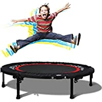 Plohee Mini Trampoline 40 Inch Rebounder with Safety Pad