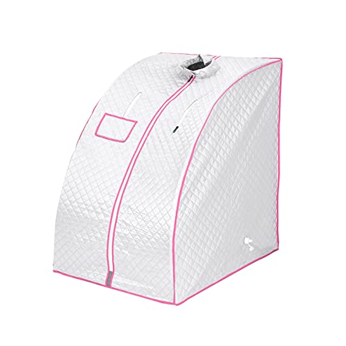 Mutiwill Steam Sauna Tent Portable Sauna Cabin with Chair Full Body Spa...