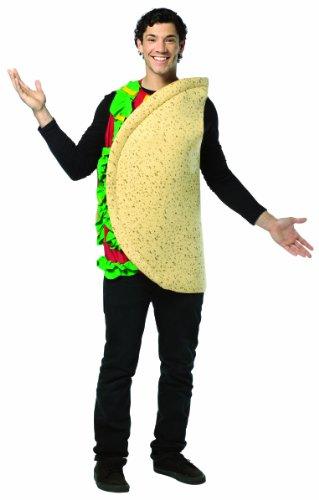Rasta Imposta leichtes Taco-Kostüm - Mehrfarbig - Standard