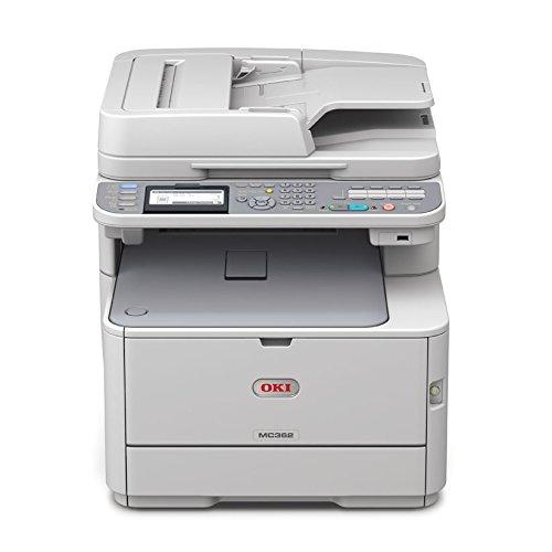 OKI MC362dn A4-Farb-4-in-1-Multifunktionsdrucker (RADF, Duplex, Netzwerk)