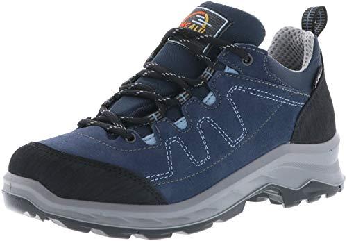 M&G JACALU Damen Trekkingschuhe Outdoorschuhe blau, Größe:39, Farbe:Blau