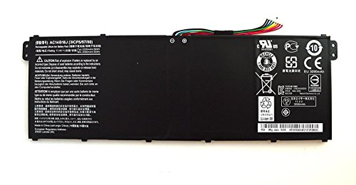 7XINbox 11.4V 3220mAh 36Wh AC14B18J Ersatz Akku Batterie für Acer Chromebook 11 B115-M B115-MP CB3-111 Aspire ES1-512 ES1-111m 3ICP5/57/80