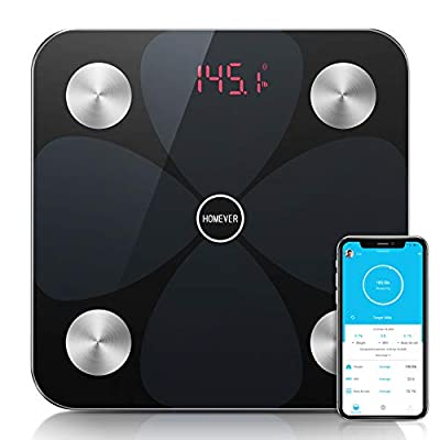 Homever Bluetooth Body Fat Scale BMI Scale