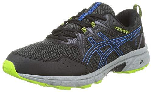 Asics Gel-Venture 8, Zapatos para Correr para Hombre, Black/Directoire Blue, 42.5 EU