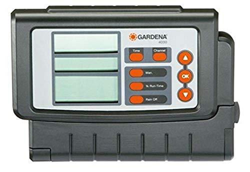 Programmateur 4030 Classic de Gardena : Programmateur pour l'Arrosage Automatique, Grand Écran, pour jusqu'à 4 Vannes (1283-20)