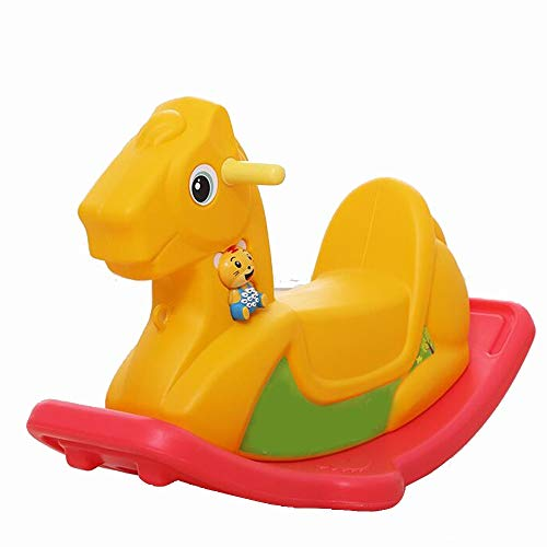 Best Deals! YUMEIGE Rocking Ride-Ons Boy&Girl Rocking Animal 33×11×18.8inch Indoor and Outdoor Toy...