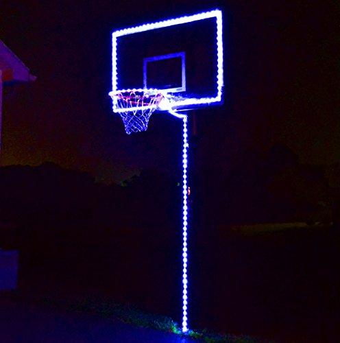 GlowCity Light Up Basketball Hoop Lighting kit(Light Up Basketball Not Inlcuded) (Blue)