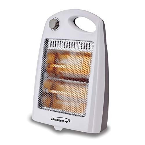Brentwood Appliances BTWHQ801W 800-Watt Portable Space Heater, One Size, White Heater Portable Space