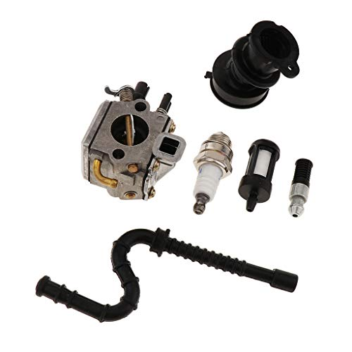 Baoblaze Kit de Carburador para Desbrozadora para Motosierra MS340 MS360 034036
